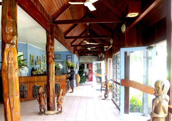 Rabaul Hotel Reception